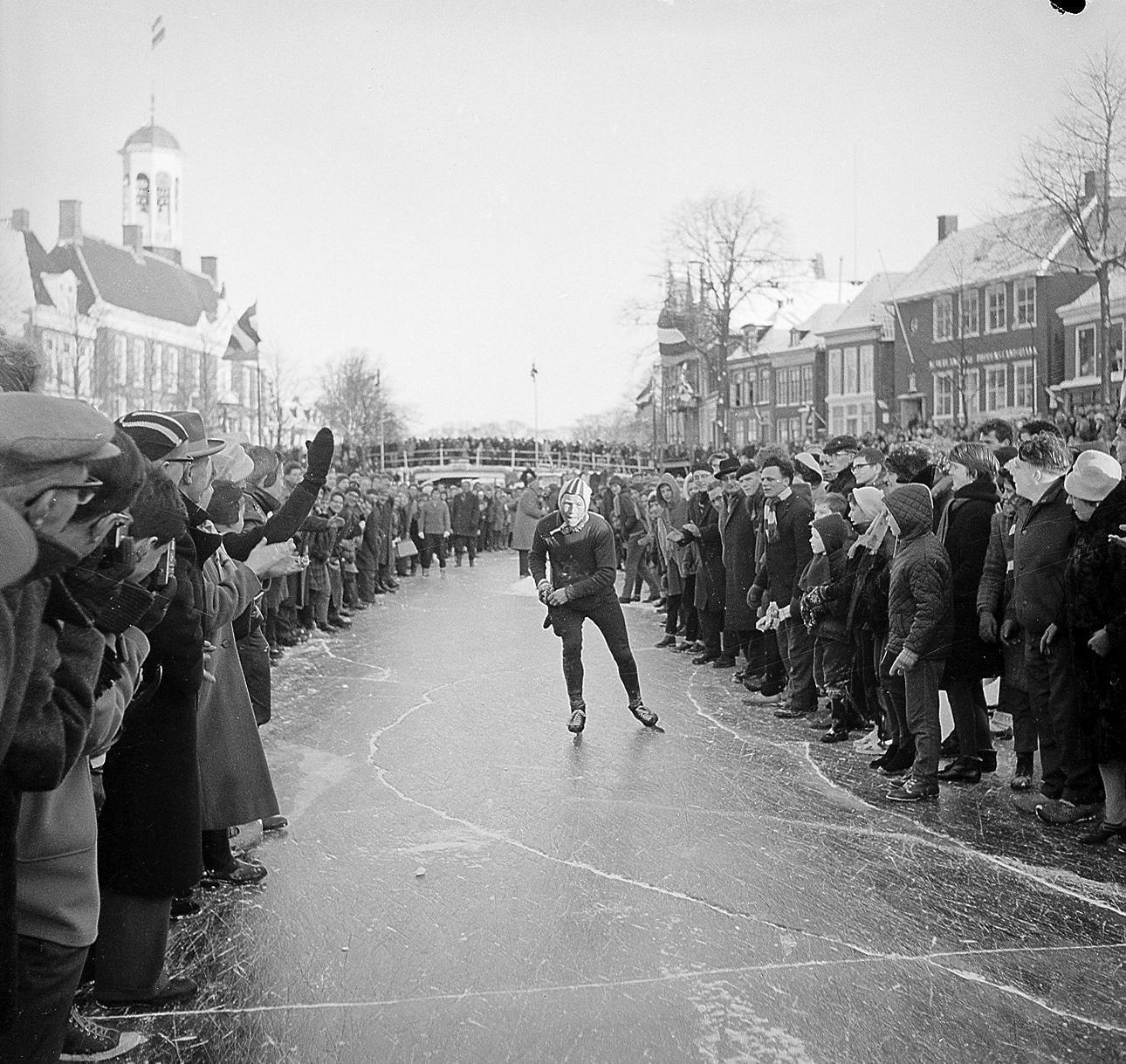 18 januari 1963: zwaarste Elfstedentocht ooit