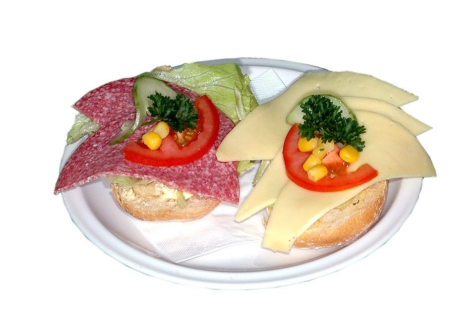 Vanmiddag lekker lunchen, maar zonder plastic