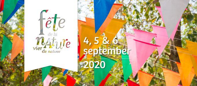 Eerste weekend september tal van activiteiten tijdens Fête de la Nature